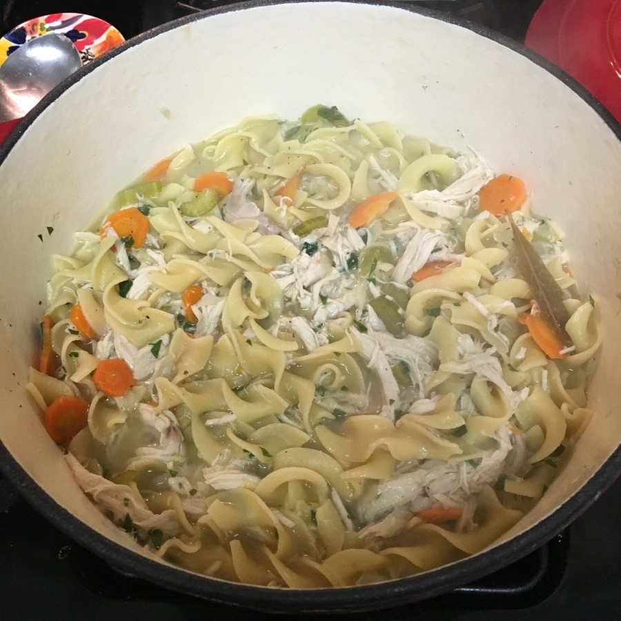 Quick and Easy Chicken Noodle Soup – neverbeenso