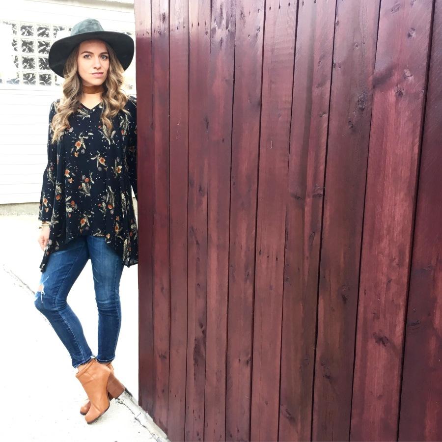 Fall Essentials Part 2: Florals Women's Clothing